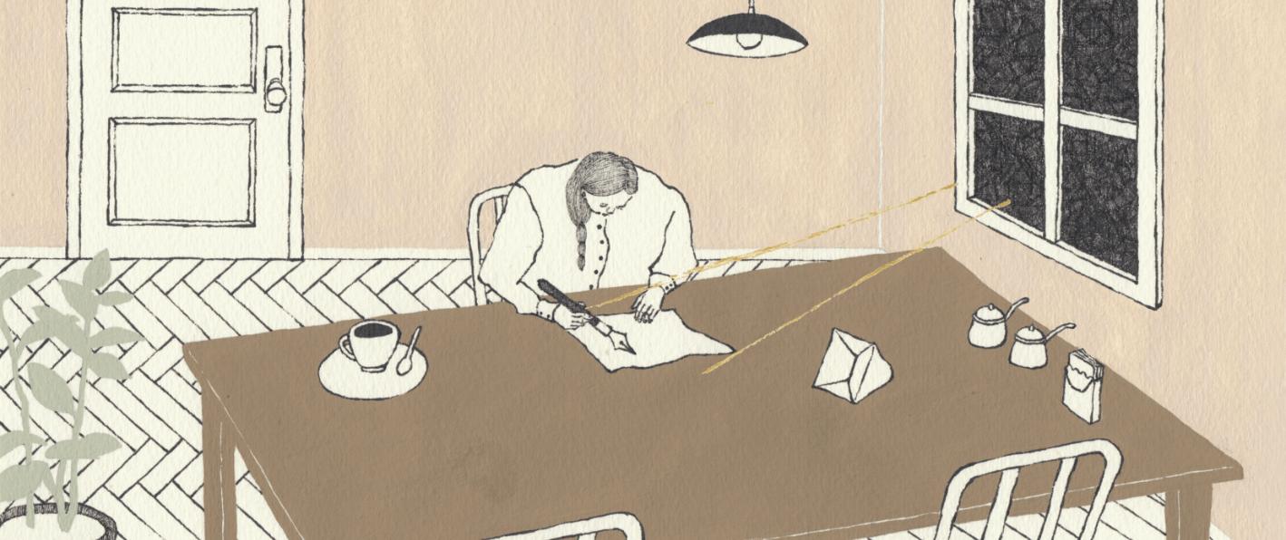 喫茶手紙寺分室